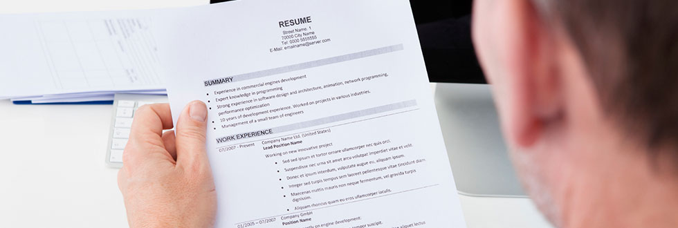 post a resume the ministry well