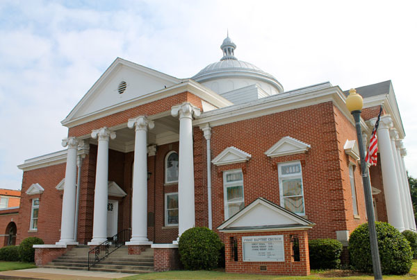 MS, Indianola - FIRST BAPTIST CHURCH