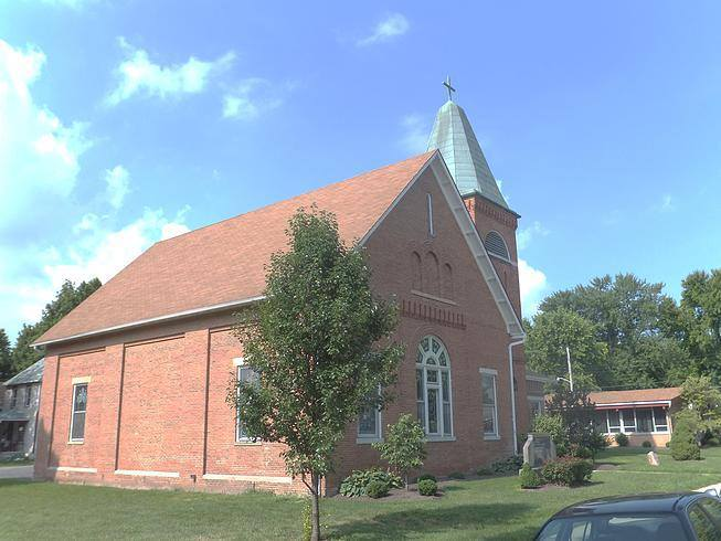 OH, West Alexandria - ST. JOHN CHURCH