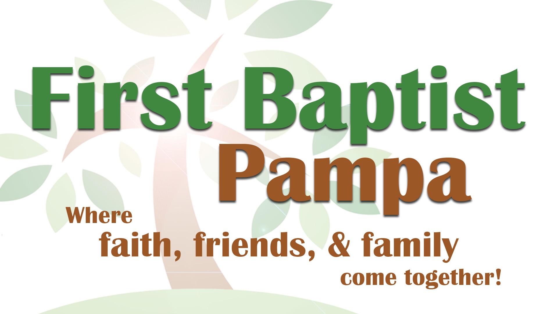 TX, Pampa - FIRST BAPTIST CHURCH