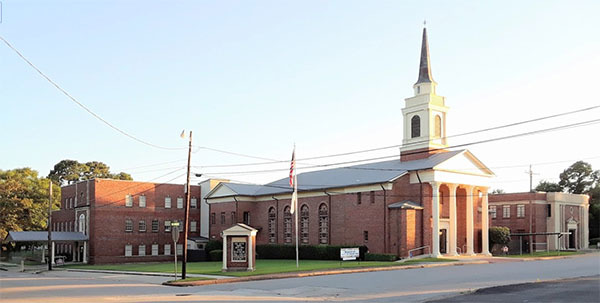 TX, Woodville - FIRST BAPTIST CHURCH