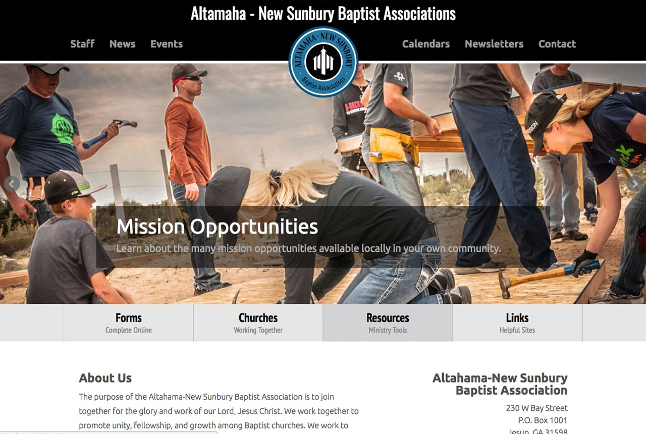 Altamaha-New Sunbury Baptist Association
