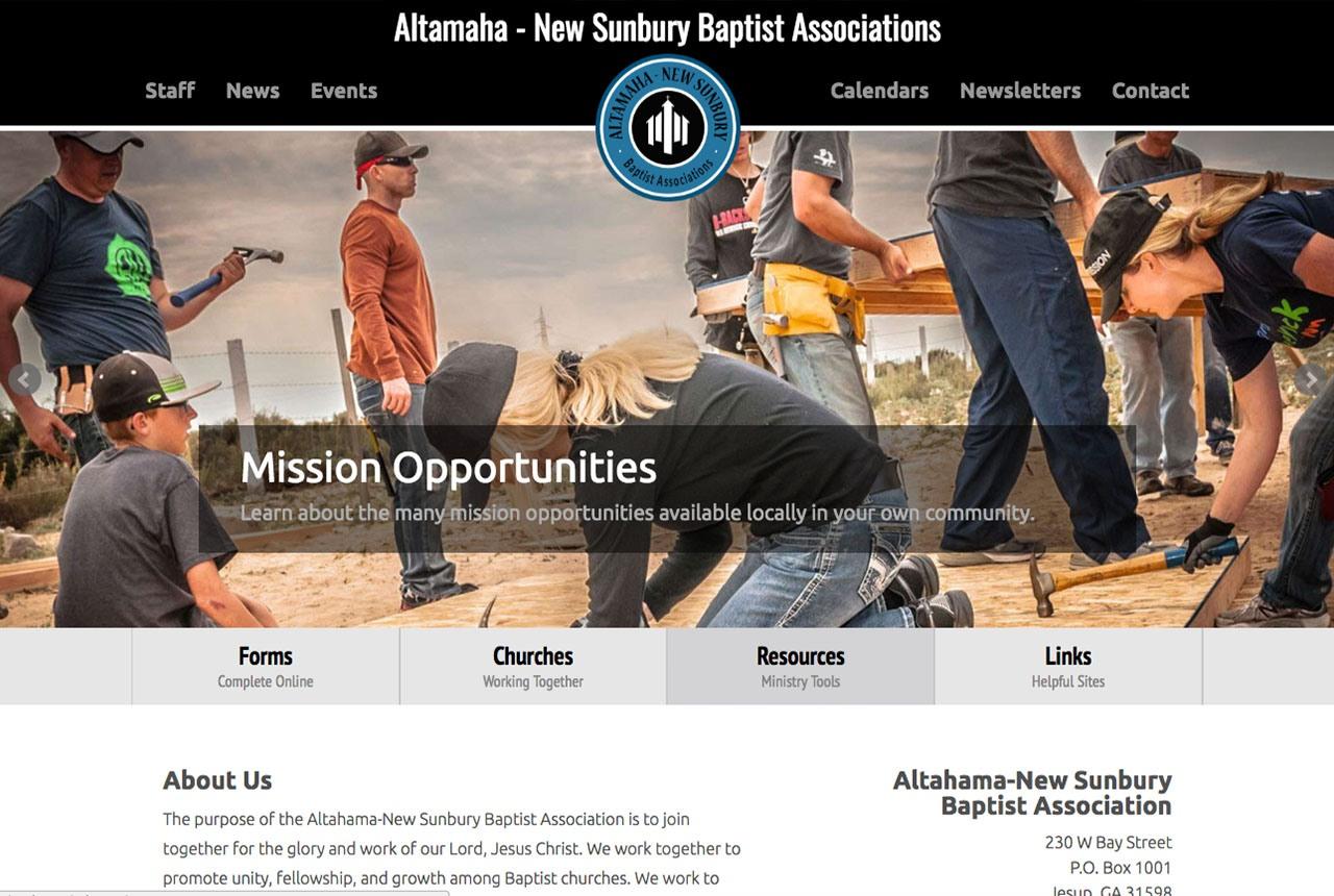 Altamaha-New Sunbury Baptist Association