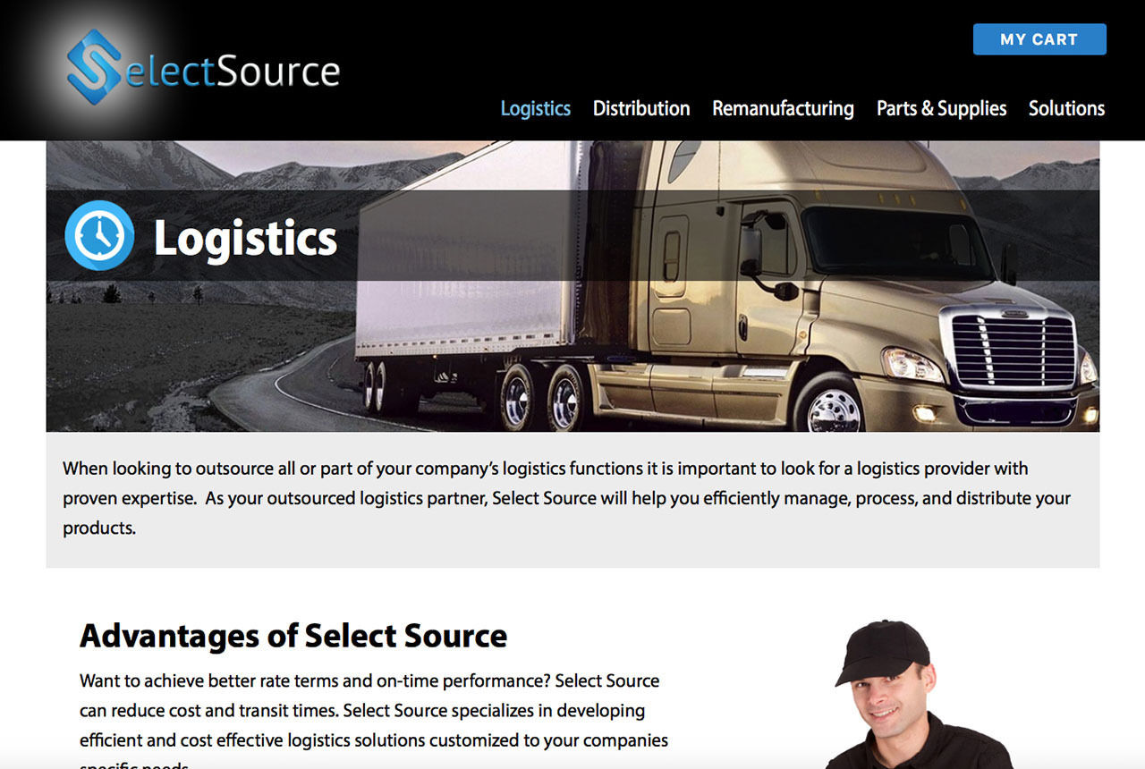 Select Source Parts